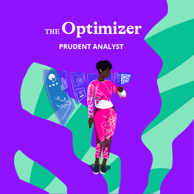 Melanie took the Quirk money personality test and received the Optimizer money type.