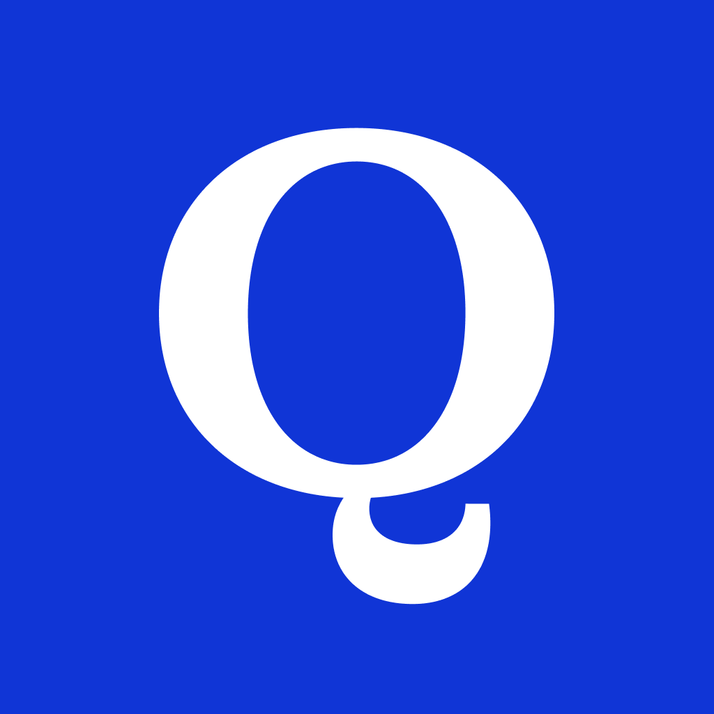 Old Quirk Logo which was just the letter Q