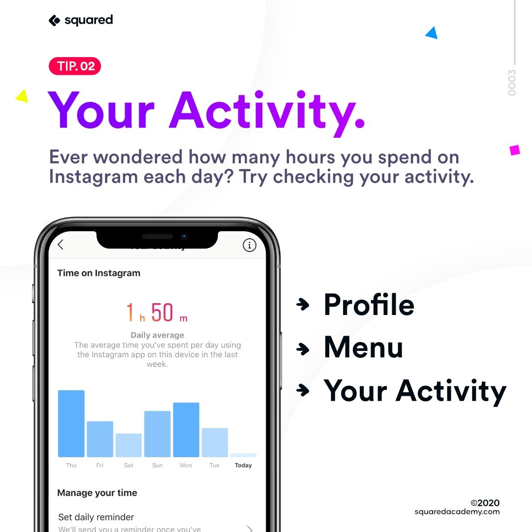 How to see your activity on Instagram