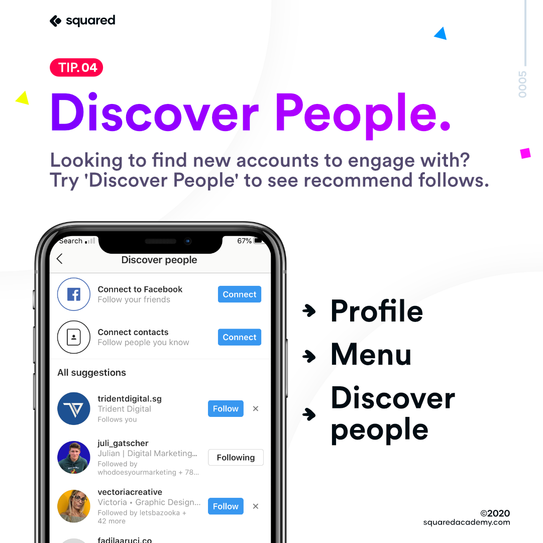 How to Discover new people on Instagram
