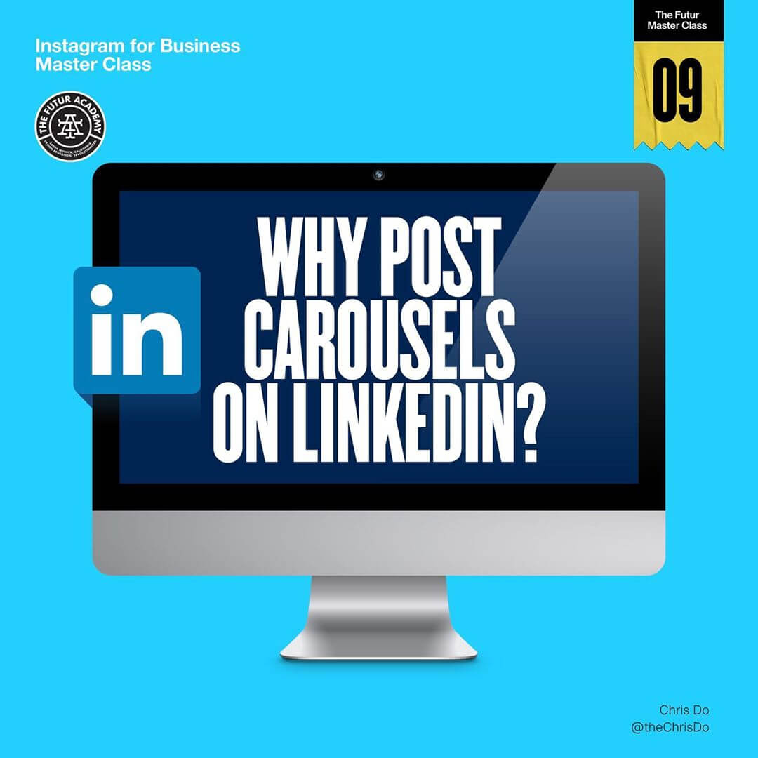 Why Post Carousels on LinkedIn