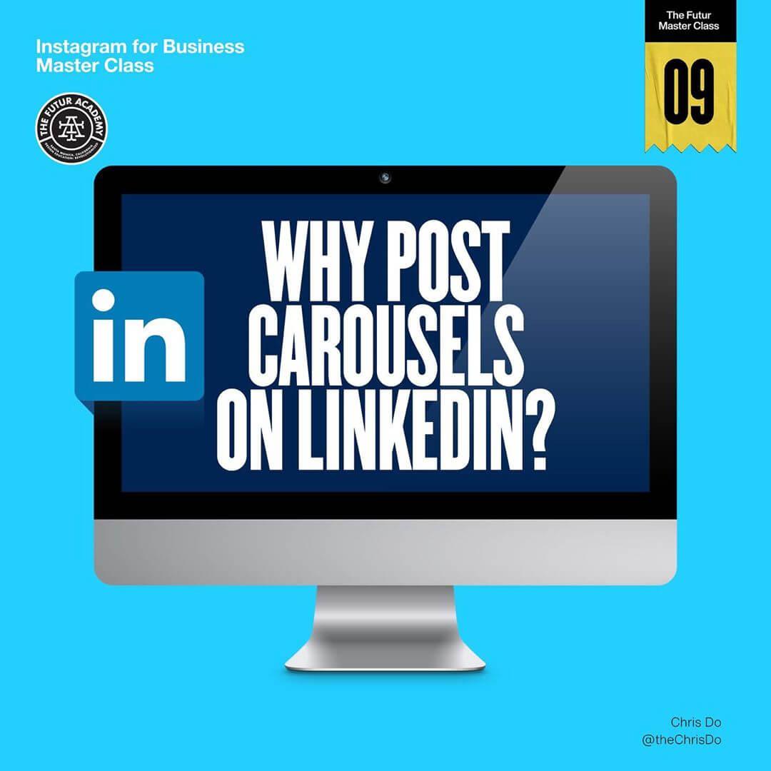Why Post Carousels on LinkedIn