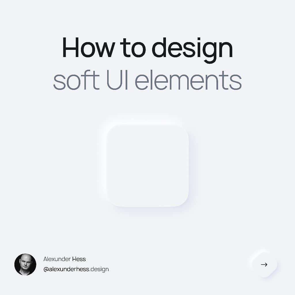 How To Design Soft UI Shapes