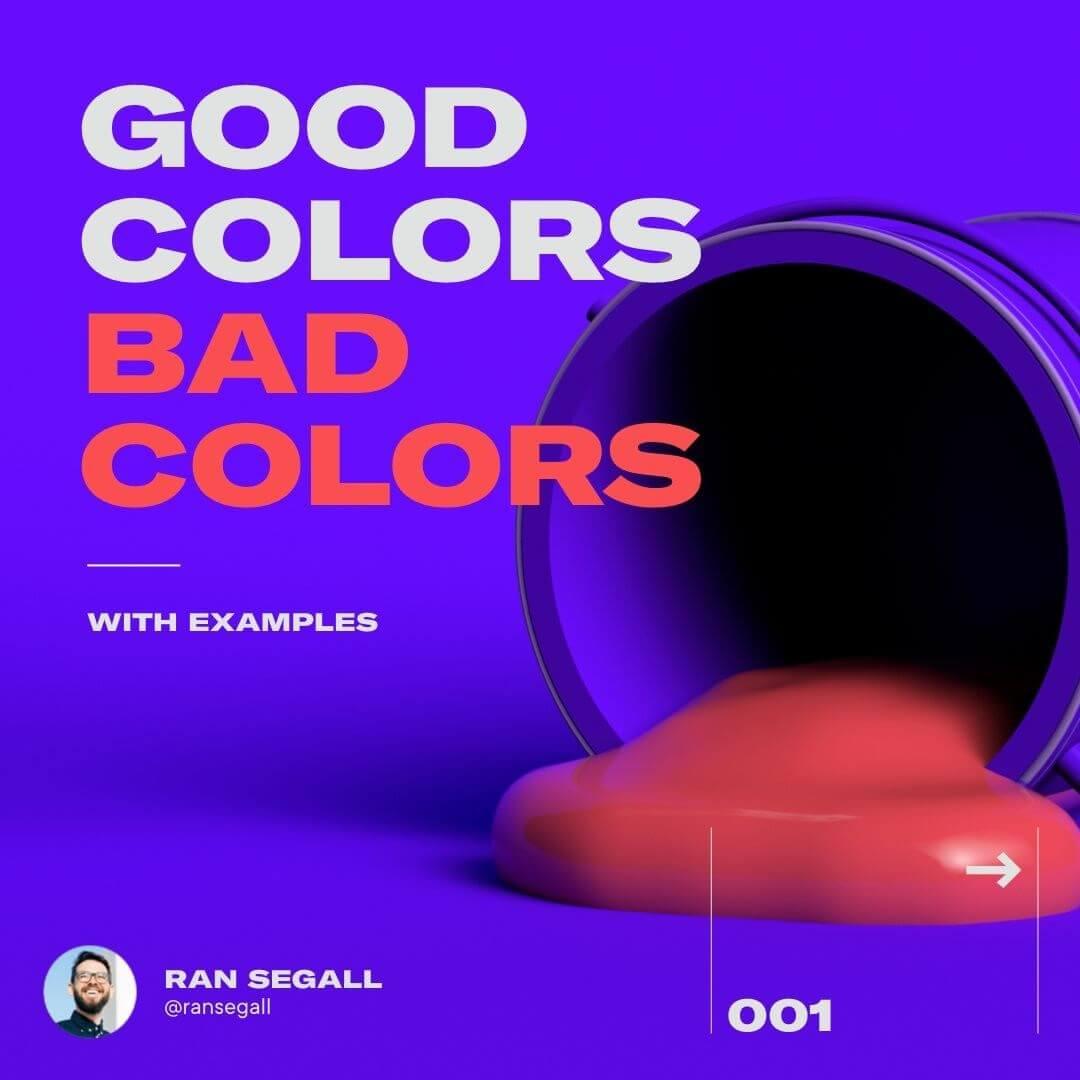 Good Colors Vs Bad Colors