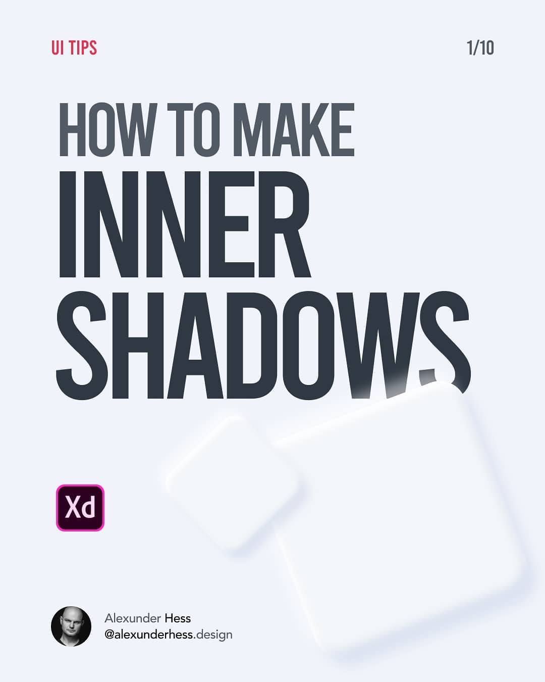 How to make inner shadows in Adobe XD
