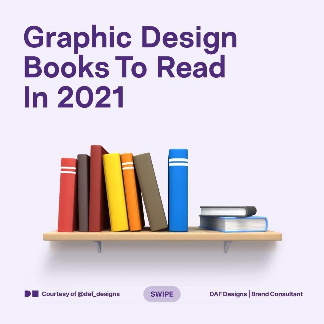 Graphic Design Books To Read In 2021
