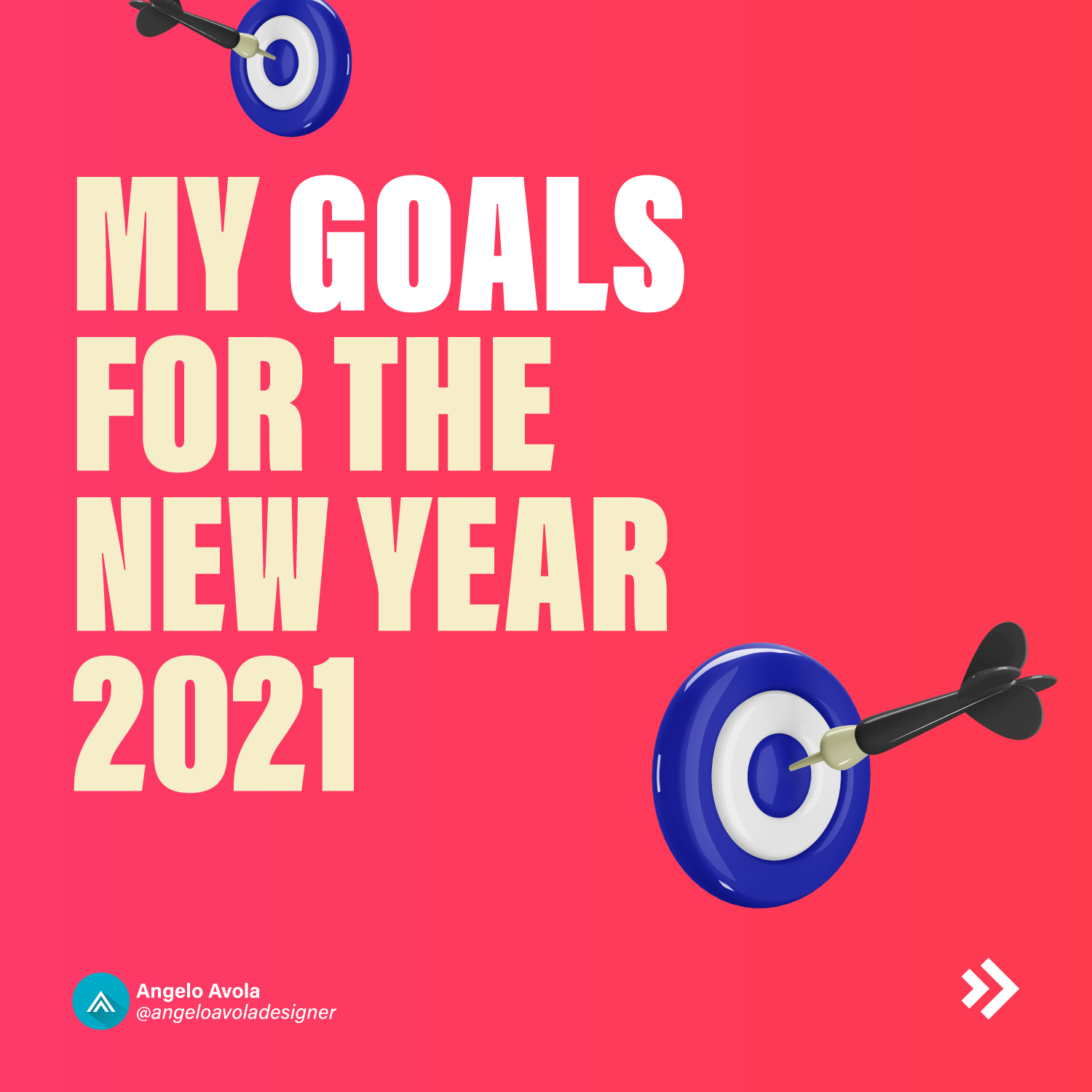 My goals for the new year 2021
