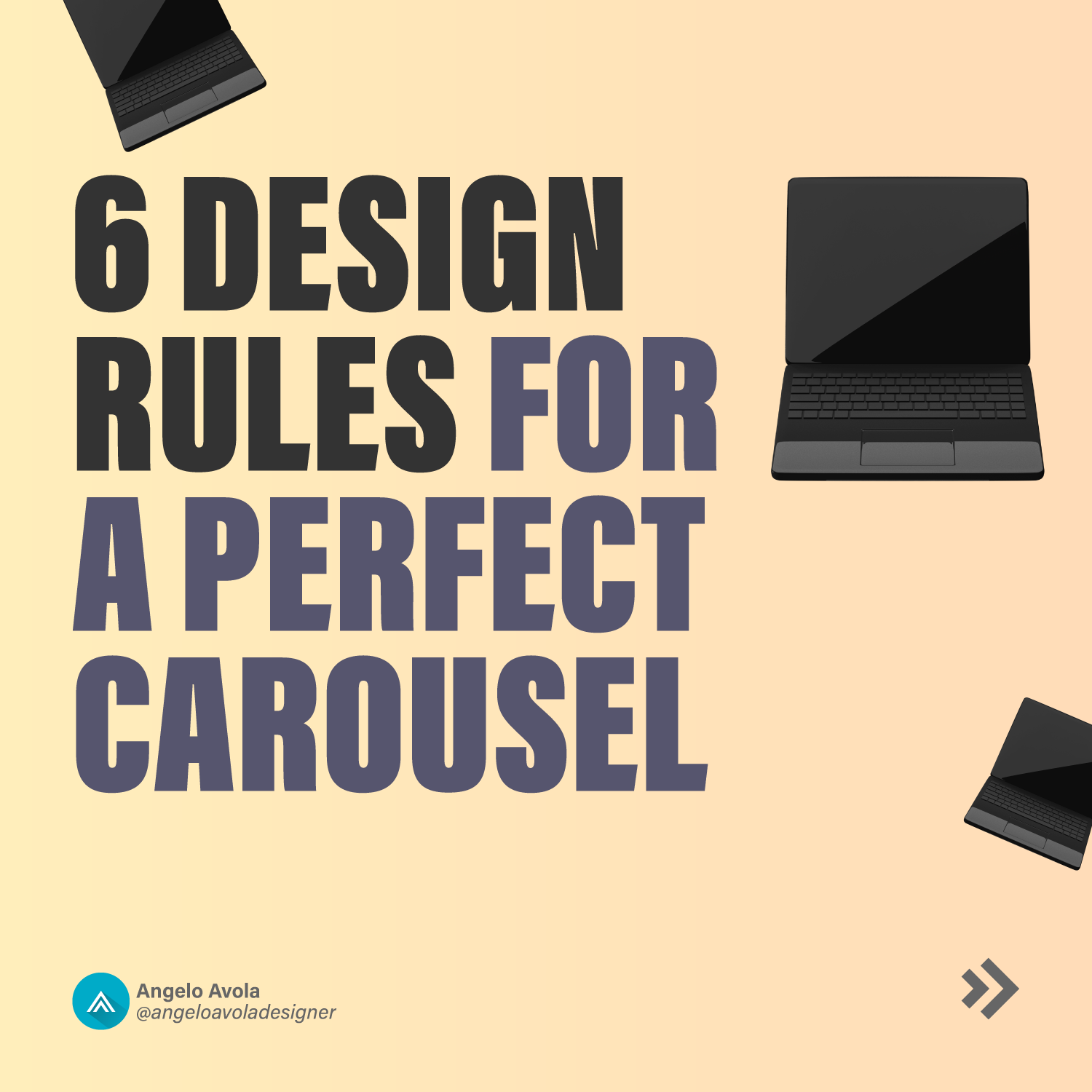 6 design rules for a perfect carousel
