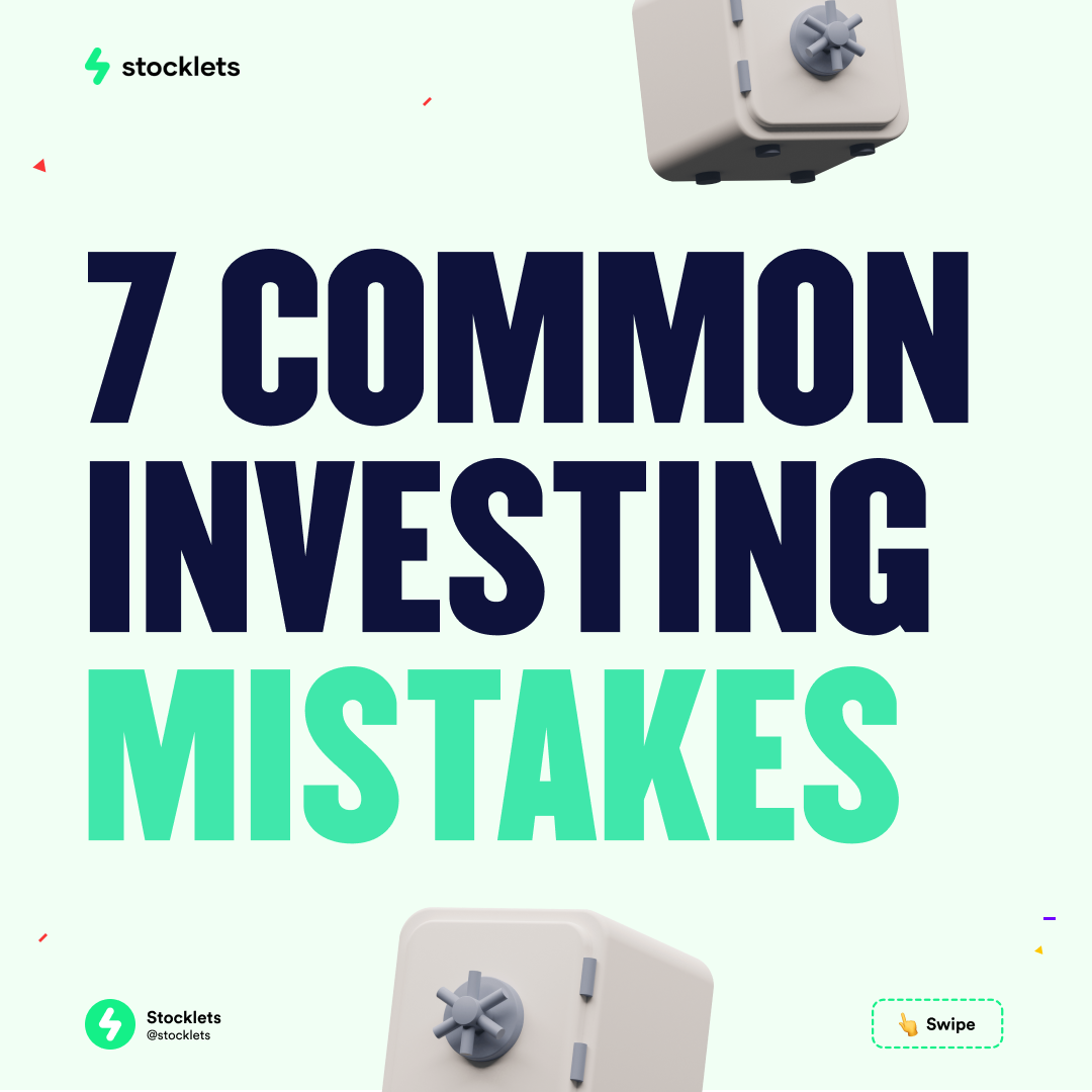 7 Common trading mistakes to avoid making