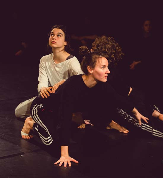 Photo gallery preview of tanznetz|freiburg dance workshop with Anna Kempin and other dancers at Freiburg