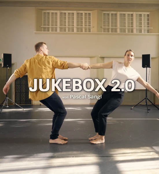 Video preview of Jukebox 2.0 dance performance of Anna Kempin and Johannes Blattner, choreographed by Pascal Sangl