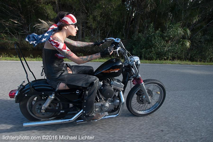 Kissa Von Adams, 2016, Michael Lichter Motorcycle Photography, Harley-Davidson