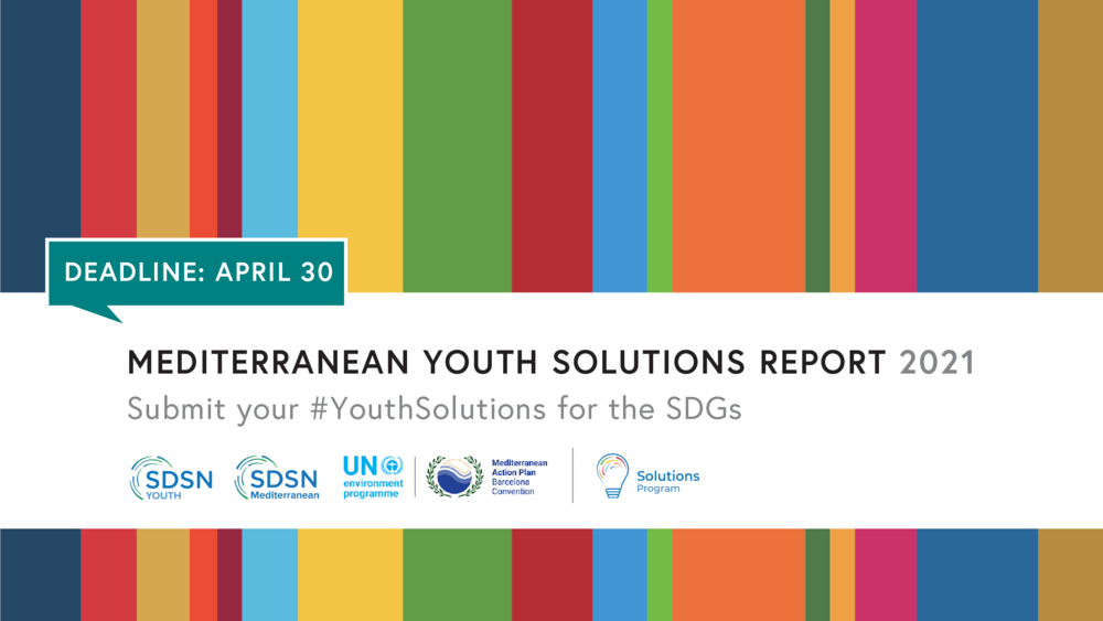 Call for Submissions: Mediterranean Youth Solutions Report