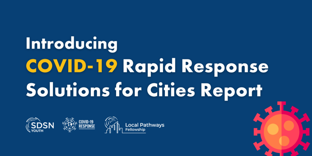 Local Pathways Fellows propose COVID-19 Rapid Response Solutions for Cities