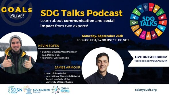 GOALs Live! with SDG Talks Podcast Hosts