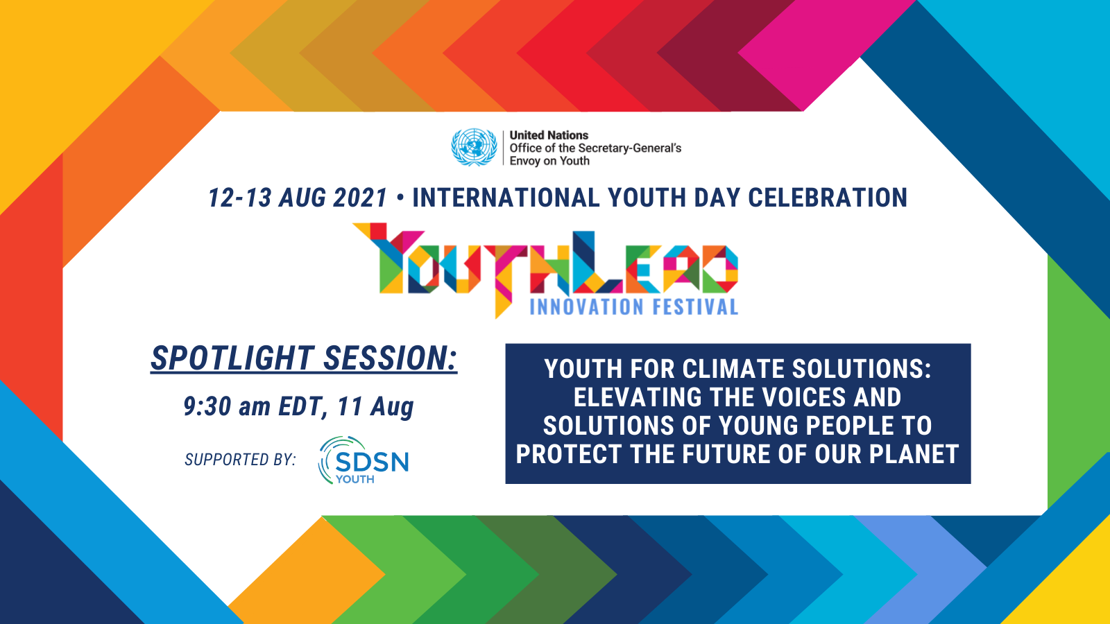 Celebrating youth-led climate solutions at the #YouthLead Innovation Festival