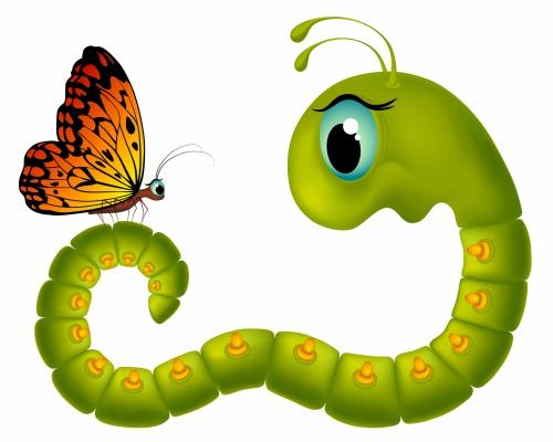 Cocooning Caterpillar