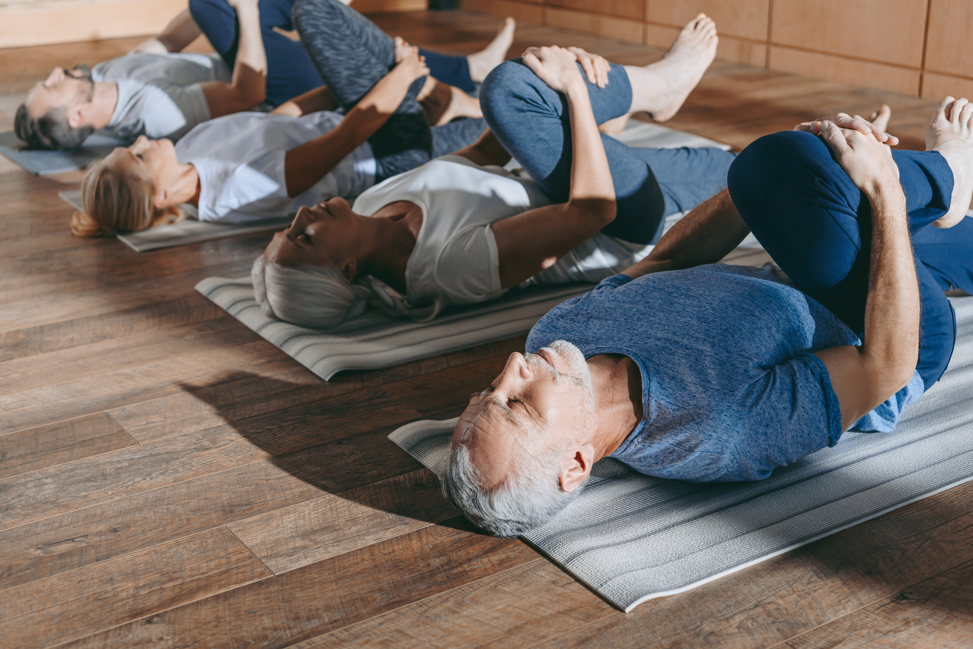 The power of breath while stretching