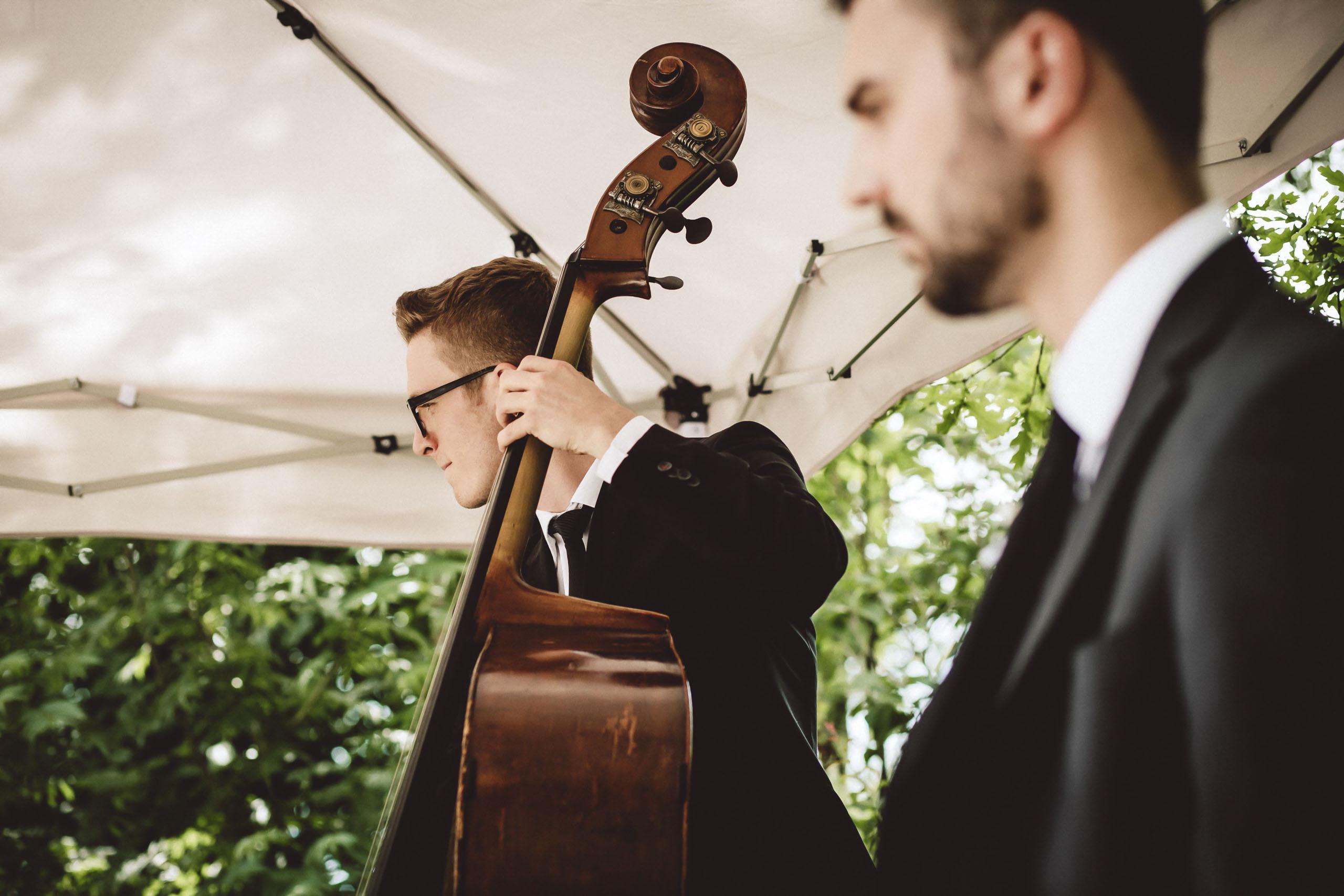 Hochzeitsband, Bolandi Trio mit Sängerin Regy, live auf einer Hochzeit in München, Bayern 2019