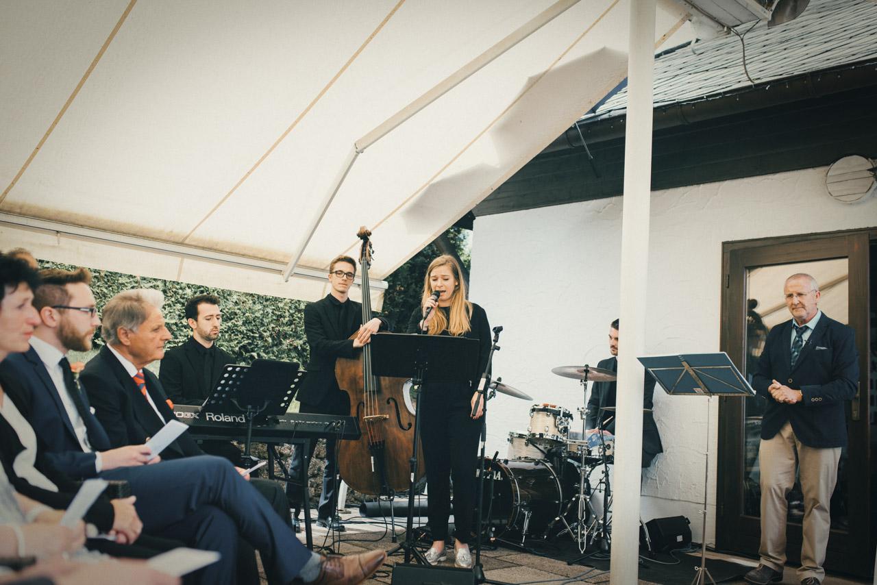 Band für Hochzeit, Bolandi Trio mit Sängerin Regy, live auf einer Hochzeit am Ammersee in Bayern 2019