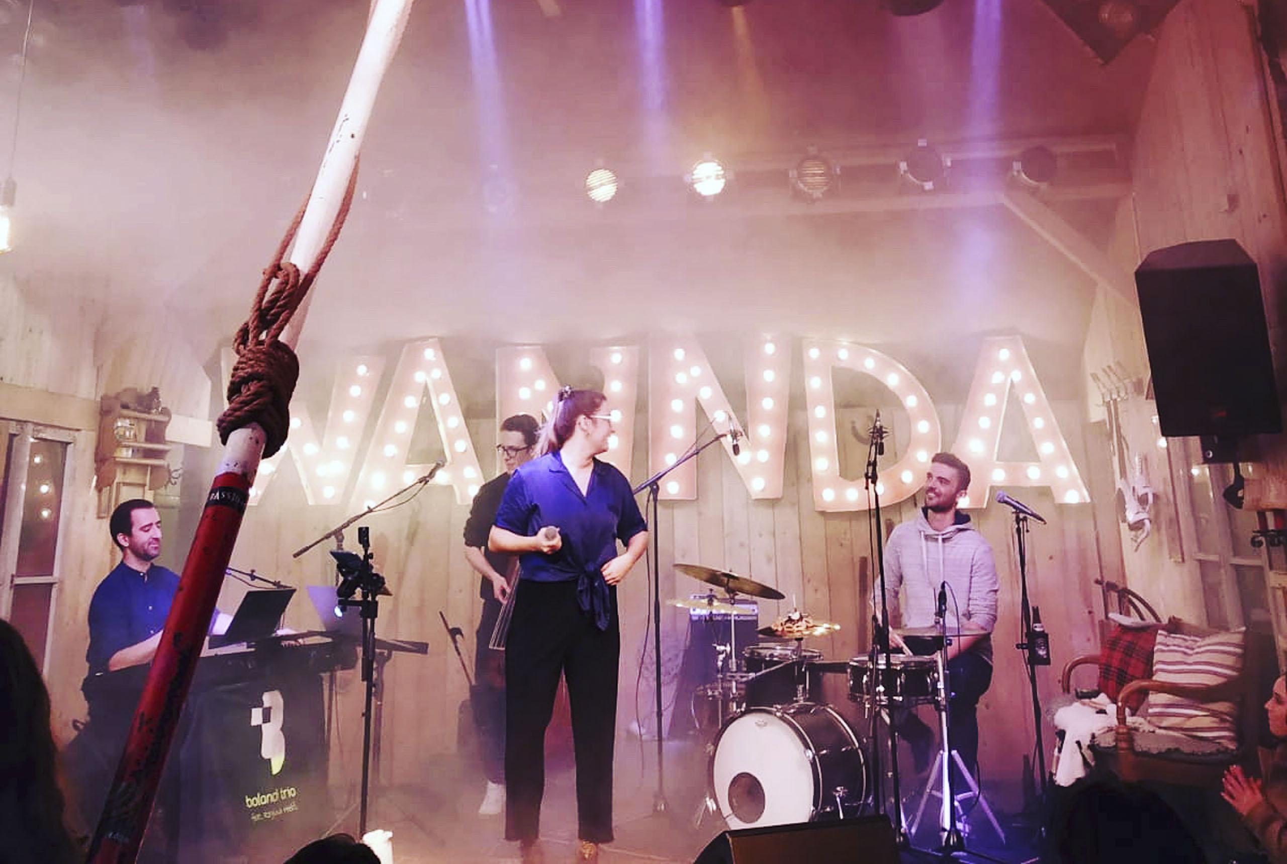 Band, Bolandi Trio, Live auf dem Märchenbazar 2019 in München