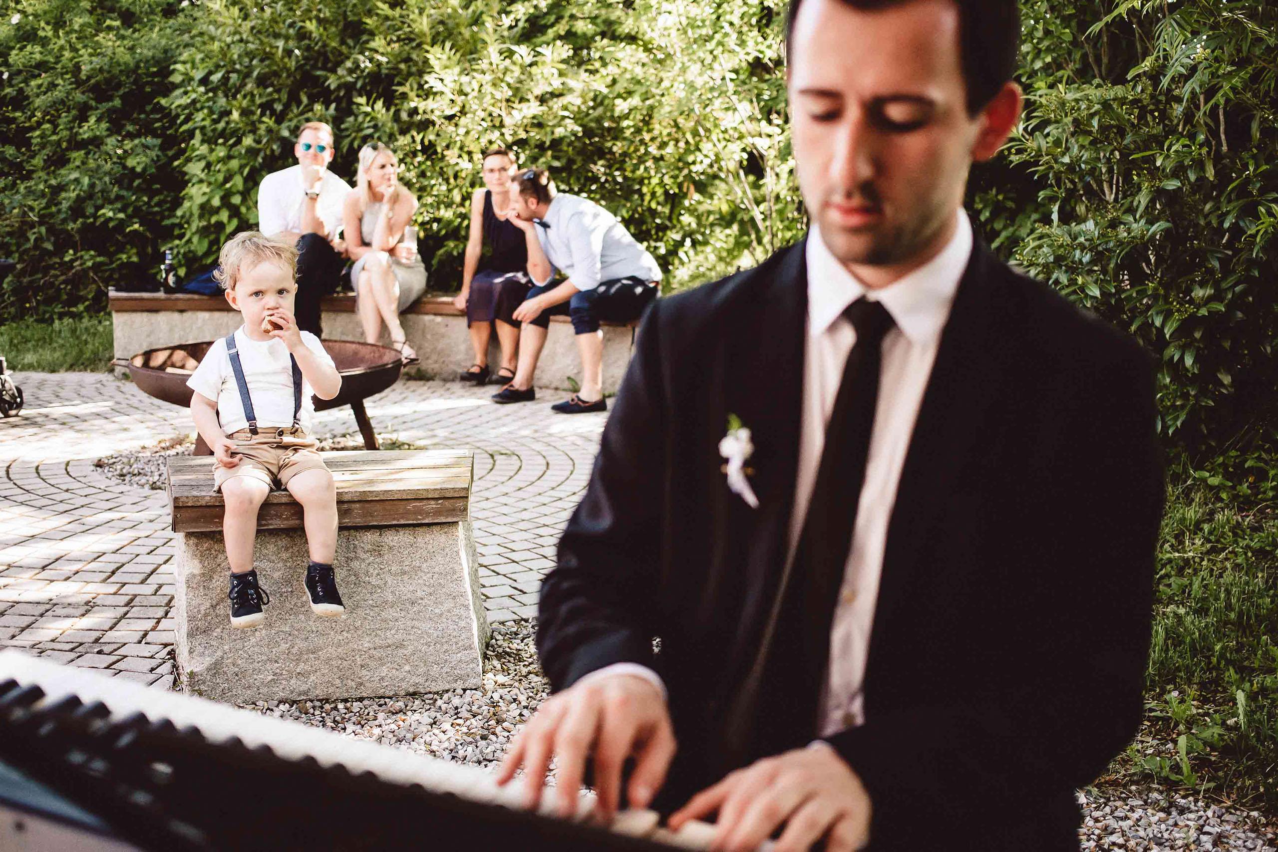 Hochzeitsband, Bolandi Trio, Live auf einer Hochzeit 2018 in München, Bayern