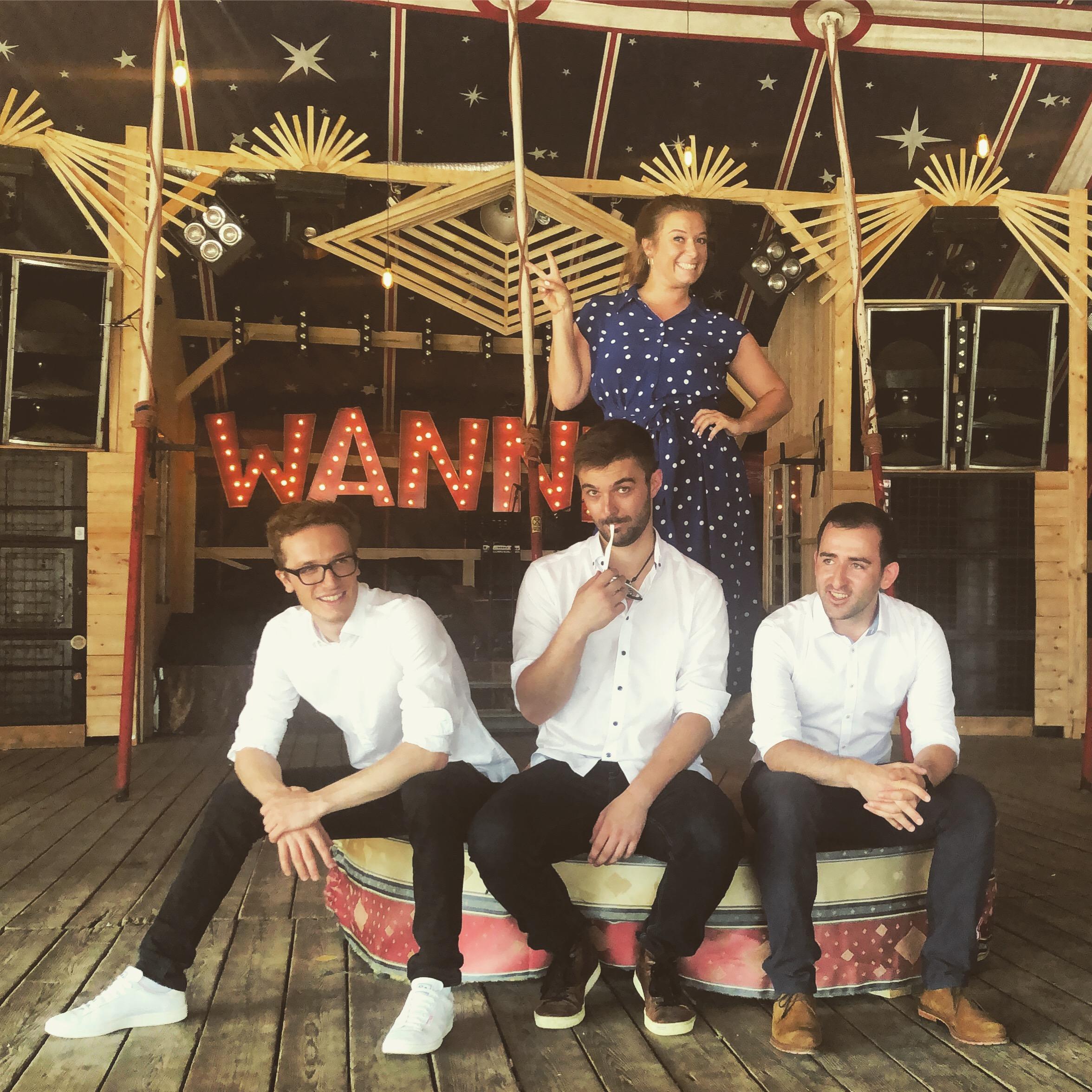 Band, Bolandi Trio, im Wannda Circus 2019