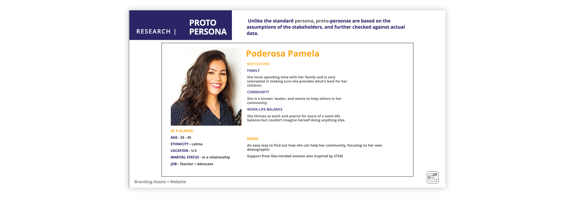PSF Persona