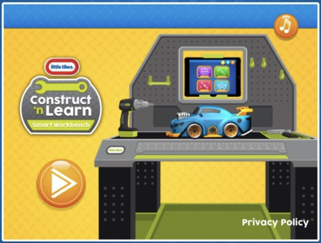 Little Tikes Builders Landing Screen