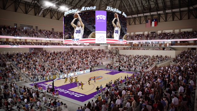 ANC selected for video displays at Dickies Arena