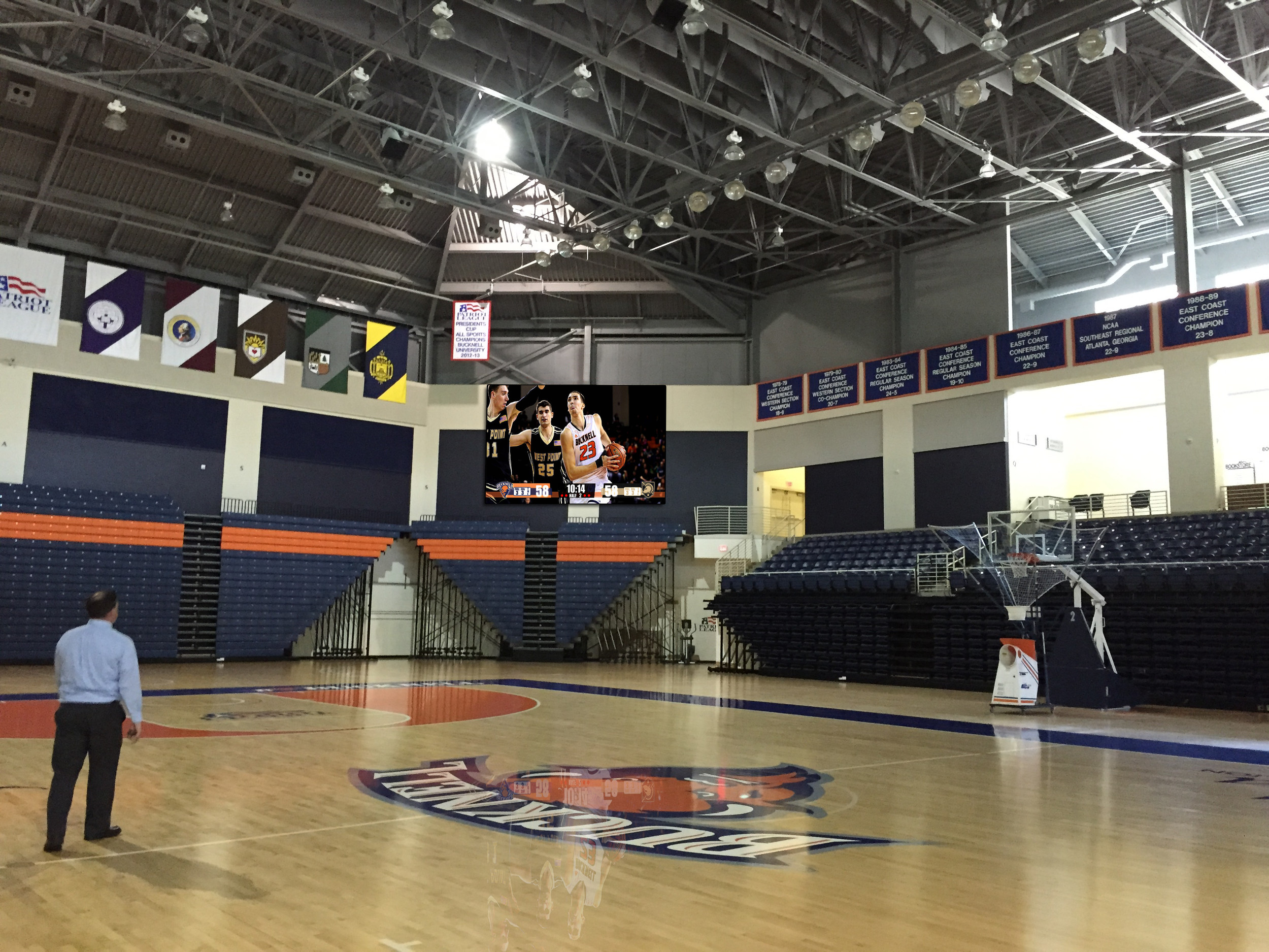 Bucknell University partners with ANC to upgrade Sojka Pavilion