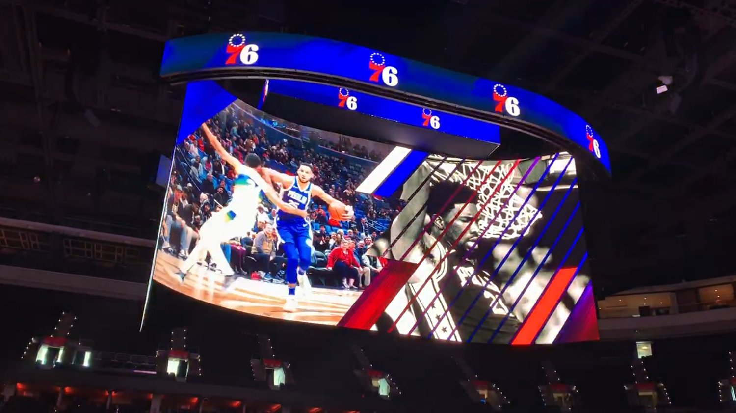 For the win: ANC'S 4K kinetic scoreboard is an SCN 2019 Install of the Year