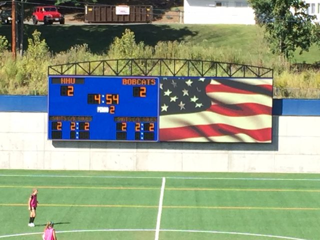 Quinnipiac University Partners with ANC on Three New Scoreboards for Athletics Department