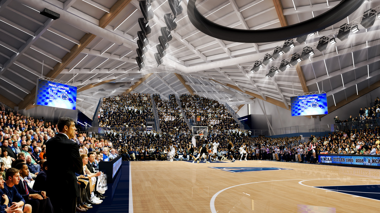 Villanova University selects ANC to install complete video and audio system at Finneran Pavilion