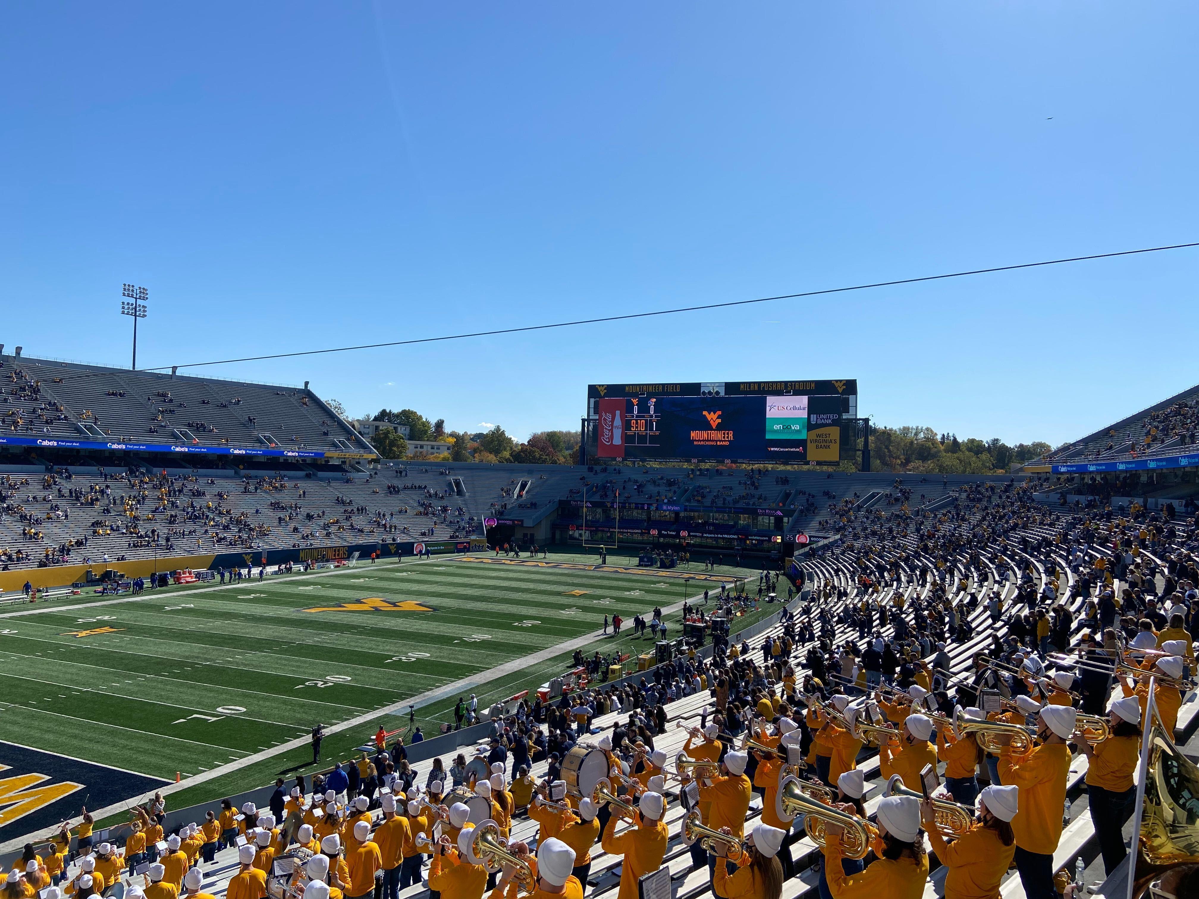West Virginia University - Stadium