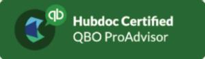 Hubdoc Certified QBO ProAdvisor logo