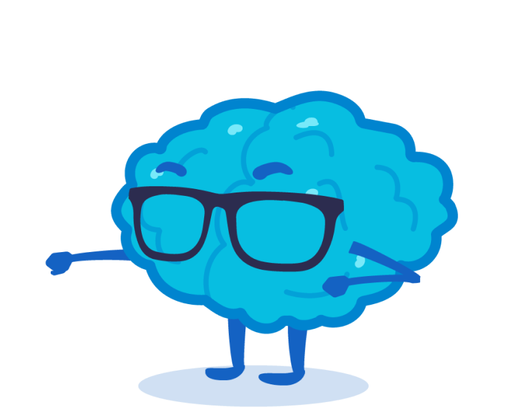 glasses brain
