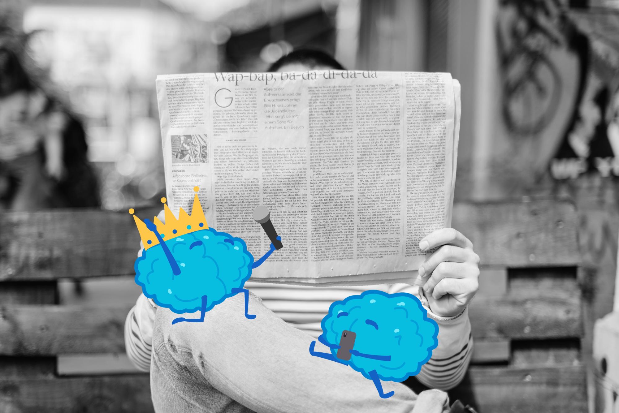 Newspaper brains