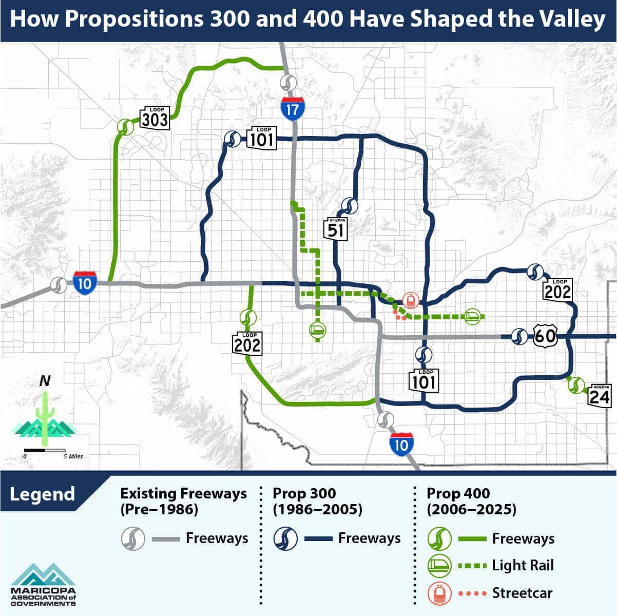 Map showing how propositions 300 and 400 have shaped the Valley