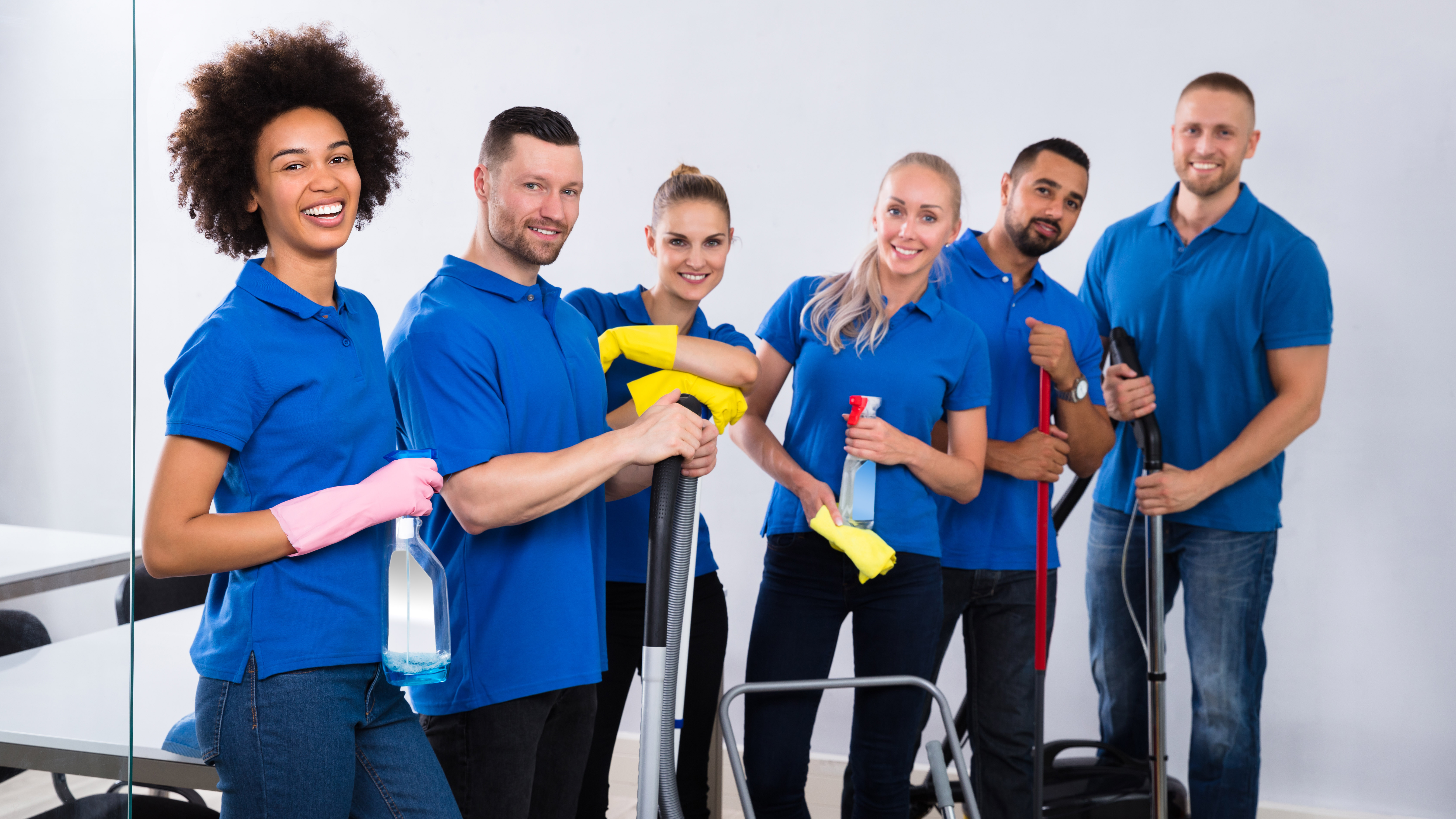 Team Cleaning - Master Class Commercial Cleaning