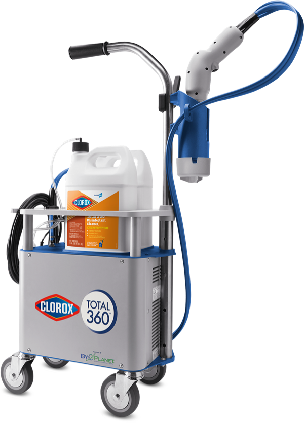 Master class commercial cleaning using clorox 360
