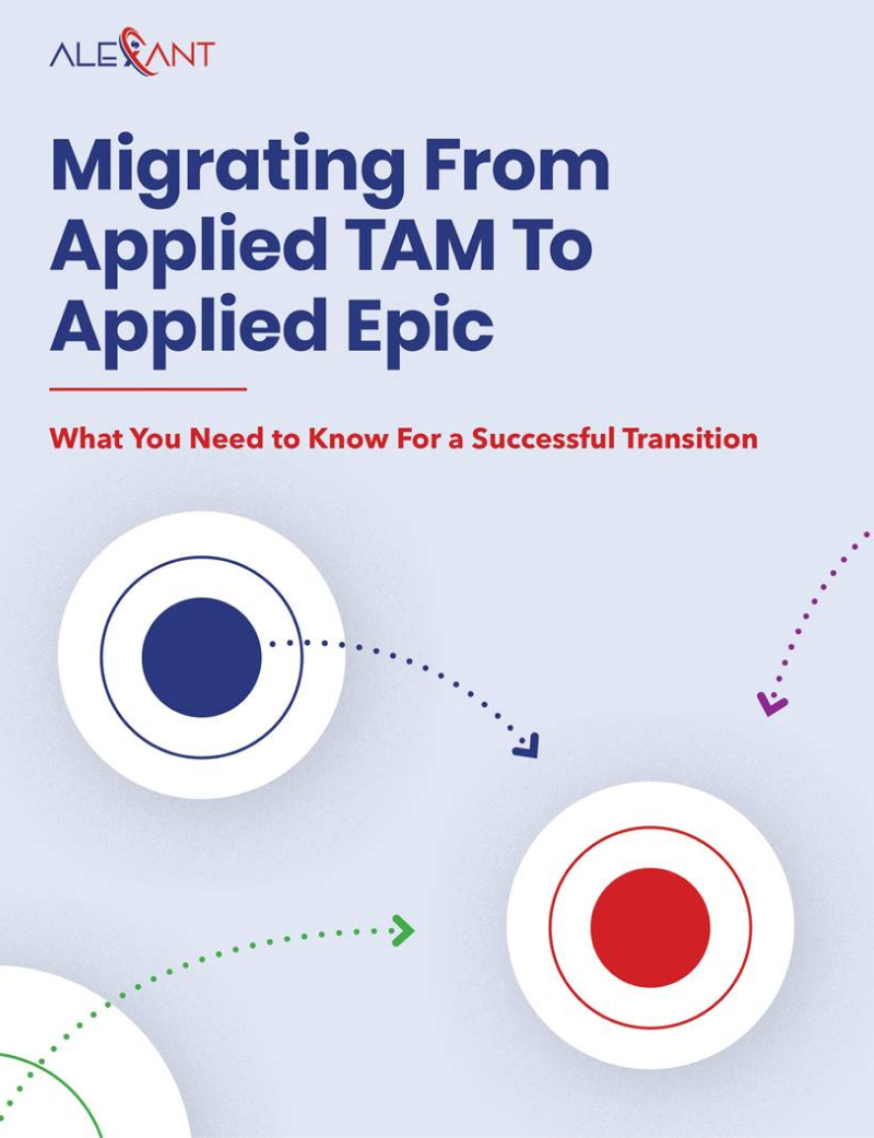 Document cover of Migrating from Applied Tam to Applied Epic