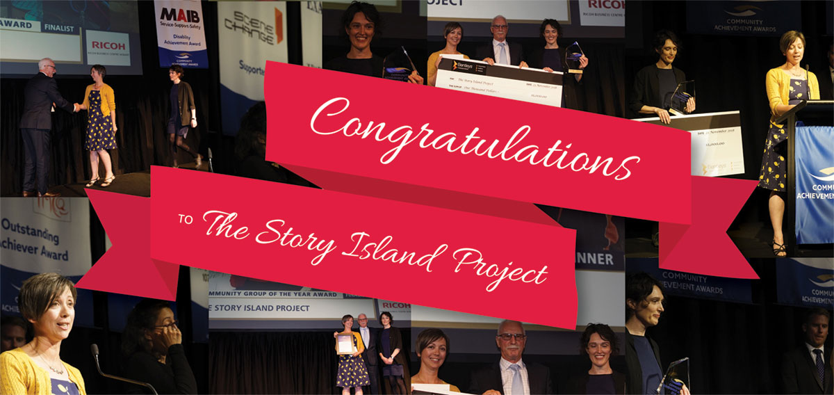 Congratulations to the Story Island Project