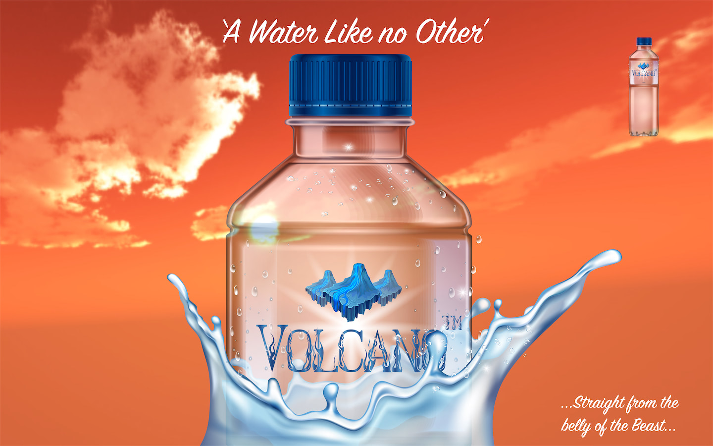Léa Porré / Why Volcanic Water is Better For You