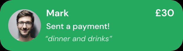Mark Made a Payment