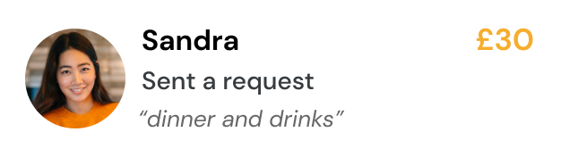Sandra Pay Request