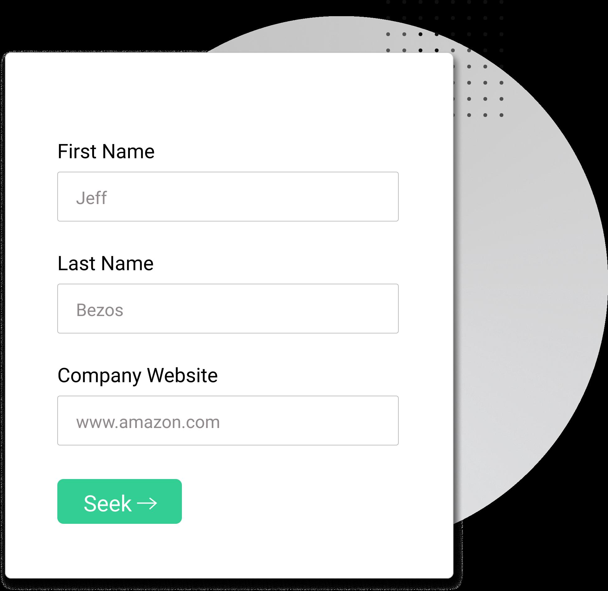 SeekOwl Single Work Email Finder Graphic