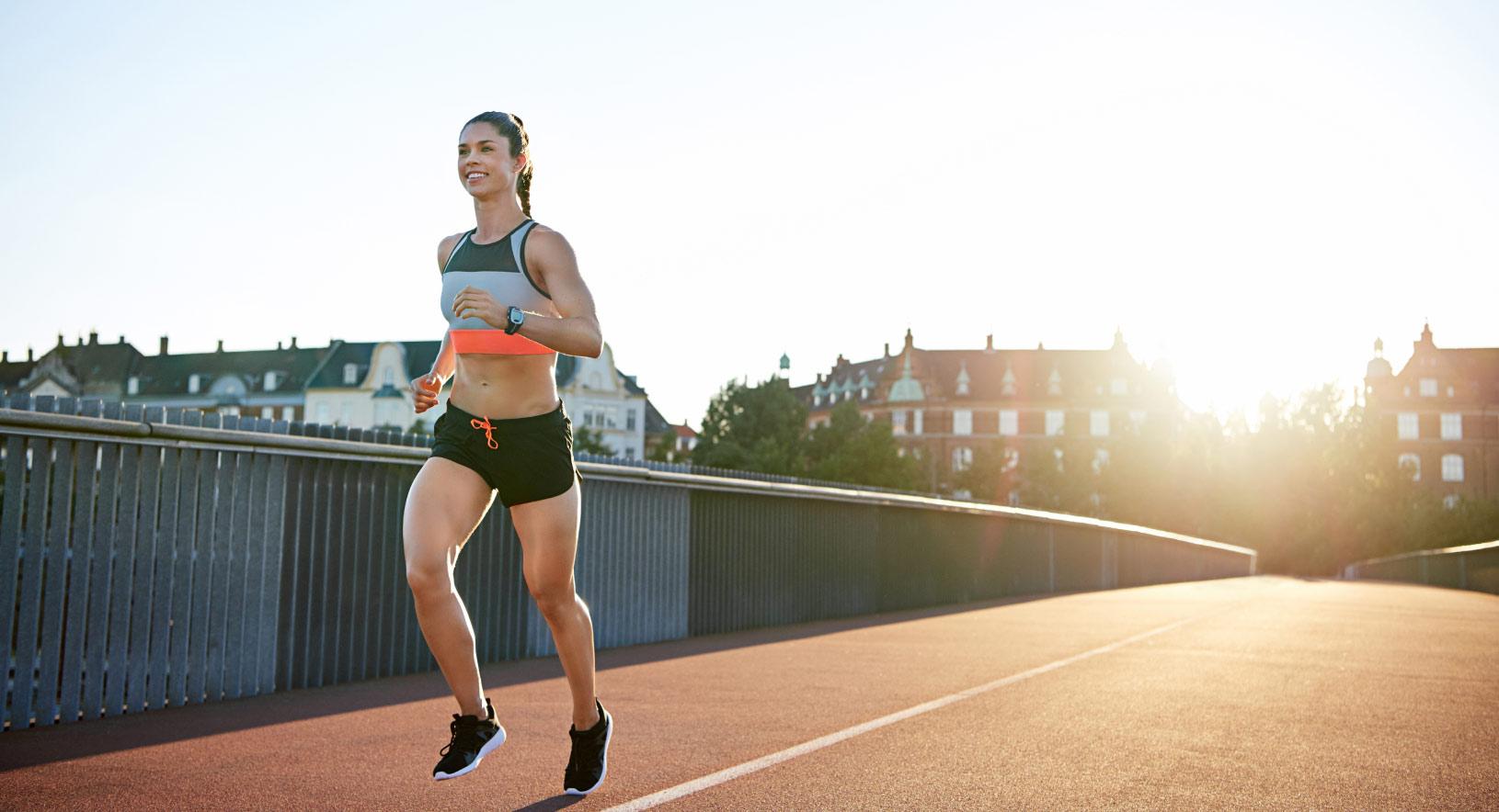 virtual race running