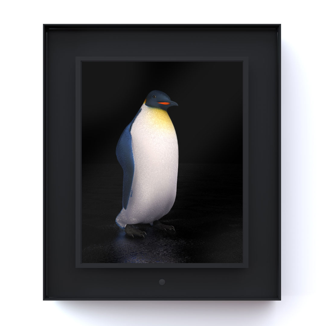 Ruffled: King Penguin