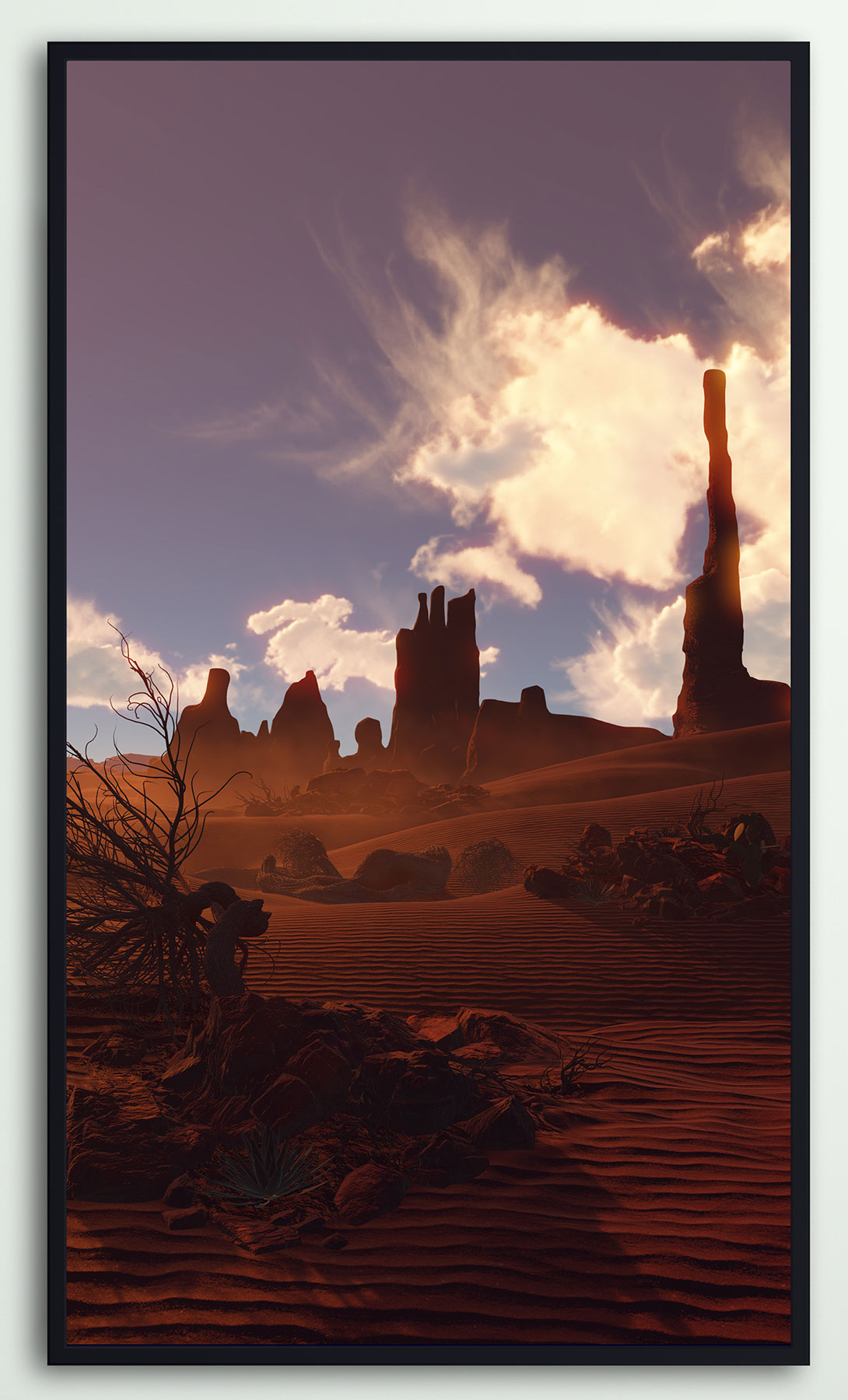Deserted: Monument Valley